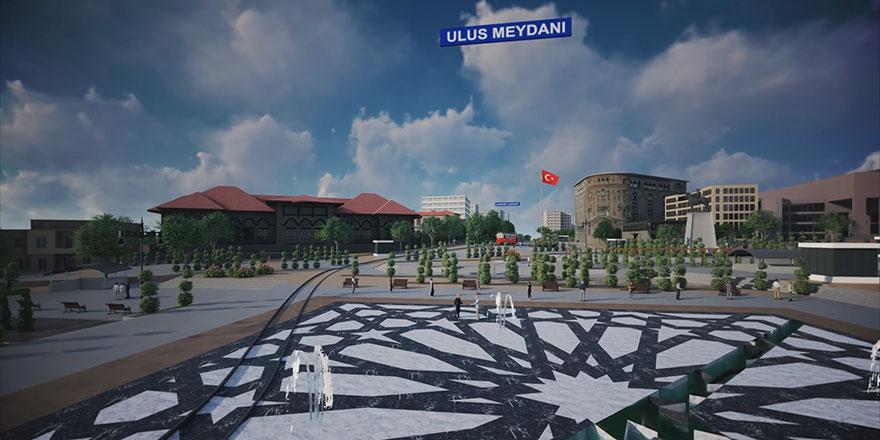 Dursun Yılmaz,: Ulus meydanının yayalaştırılması Ankara turizmine büyük katkı sağlar