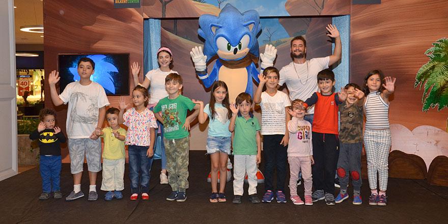 Çocuklar Sonic Boom ile eğlendi