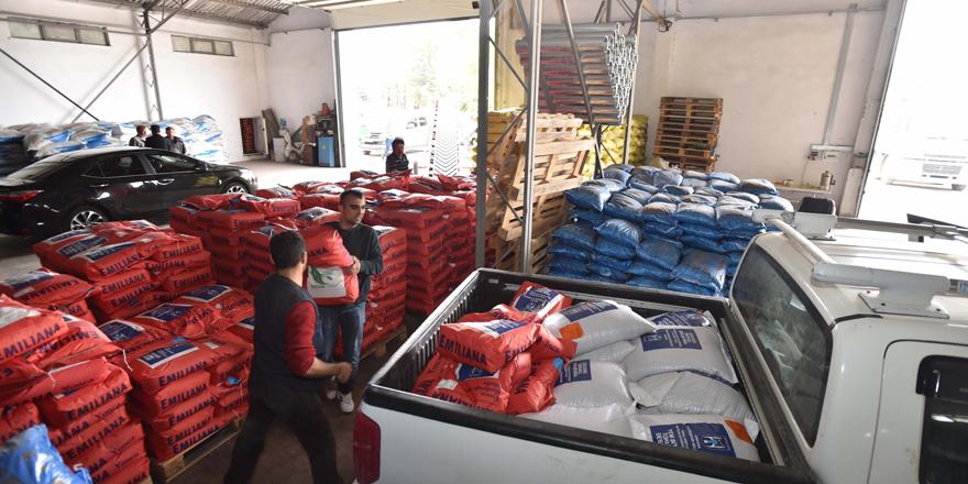 Başkent Büyükşehir'den çiftçiye aralıksız destek