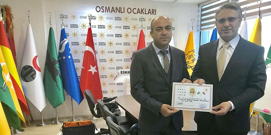 Osmanlı Ocakları'nın Yeni Başkanı Fazlı Bal