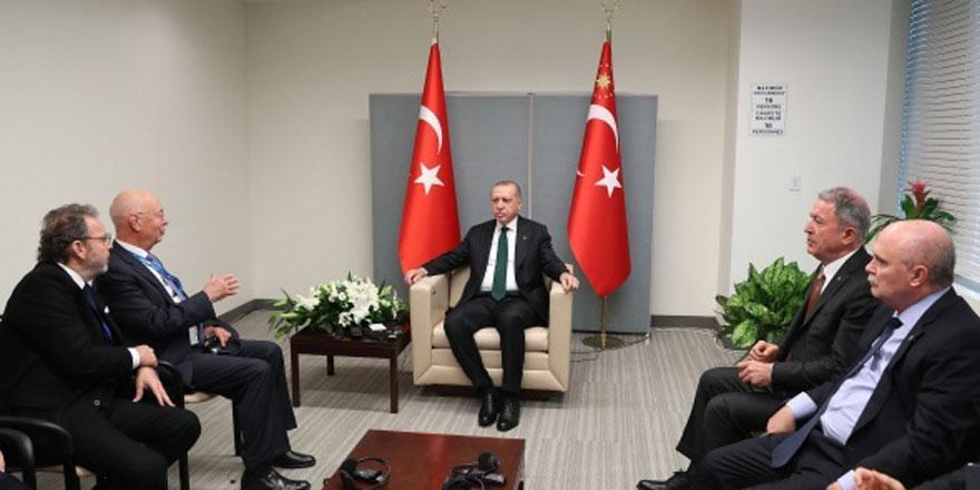 Cumhurbaşkanı Erdoğan, ABD'de dünya liderleri ile birlikte
