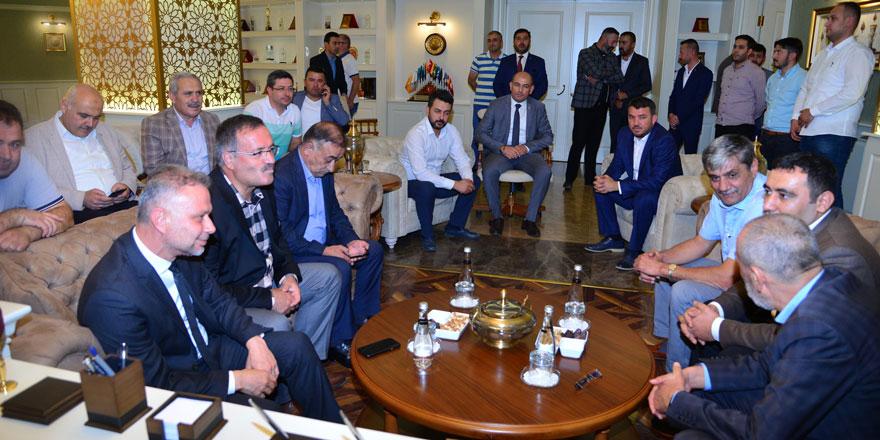 Yıldırım'dan Başkan Ertürk'e ziyaret