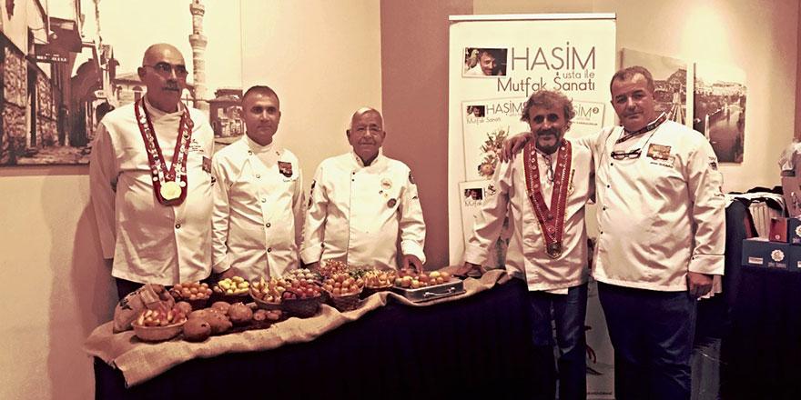 En yetenekli pastacı Azerbaycan'dan