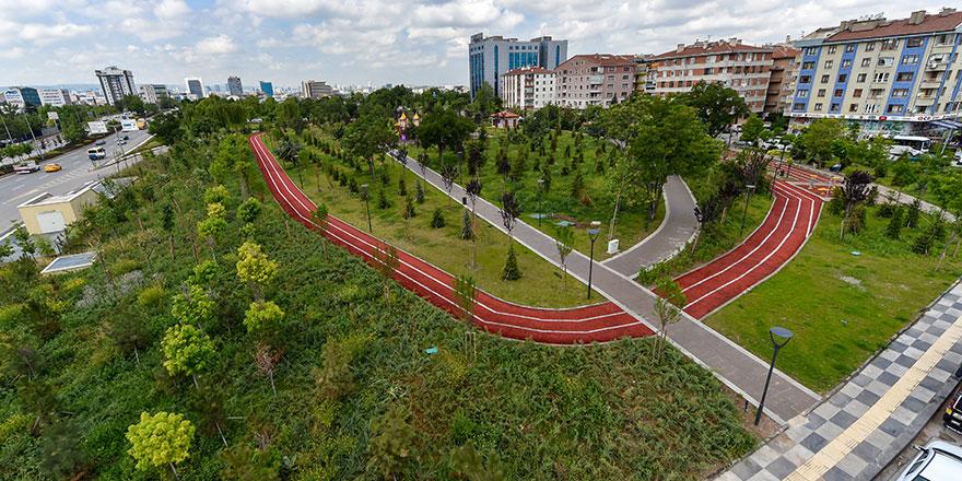 Altındağ'da park sayısı 60'a ulaştı