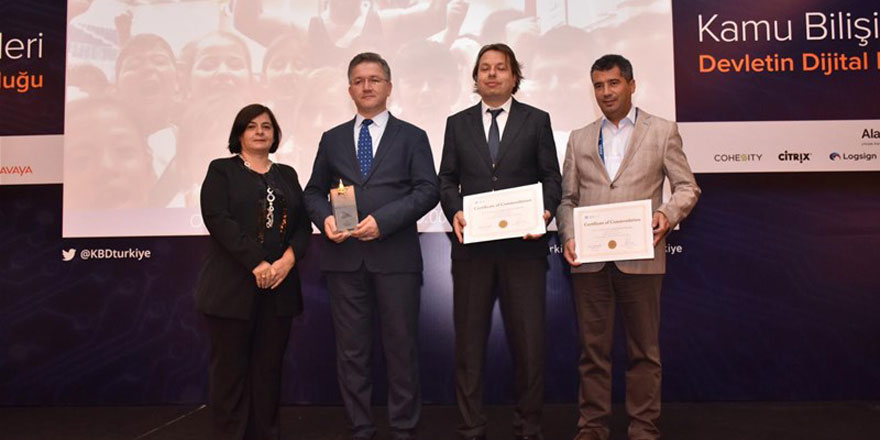 Gençlik ve Spor Bakanlığı'na anlamlı ödül