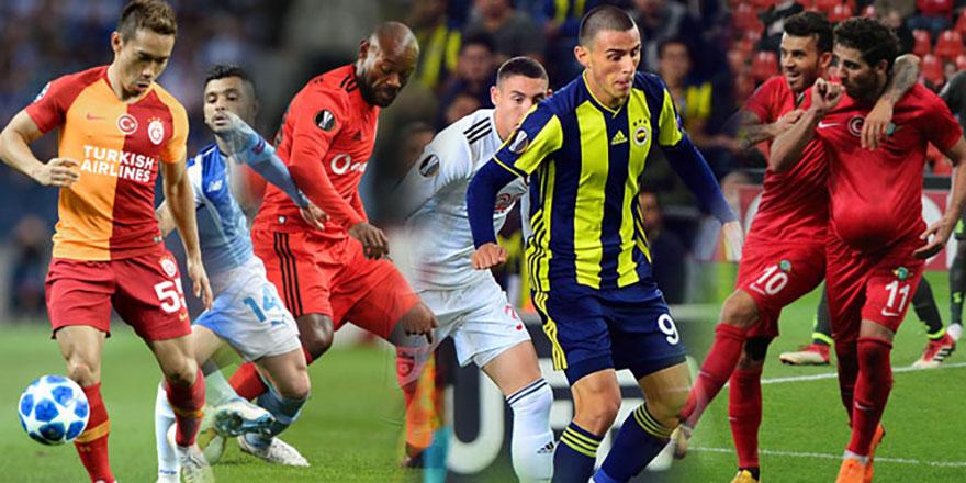 Türk takımları Avrupa'da kayıp! 4'te 1 galibiyet
