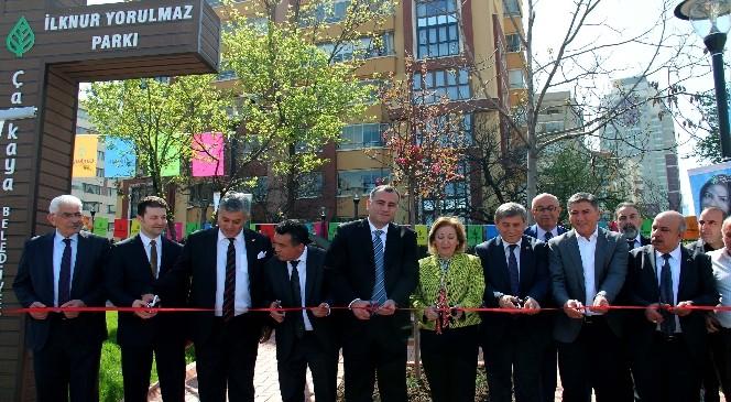 Çankaya'ya Yeni Bir Park Daha