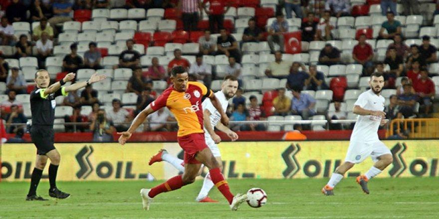 Galatasaray, Antalyaspor'u evinde yendi