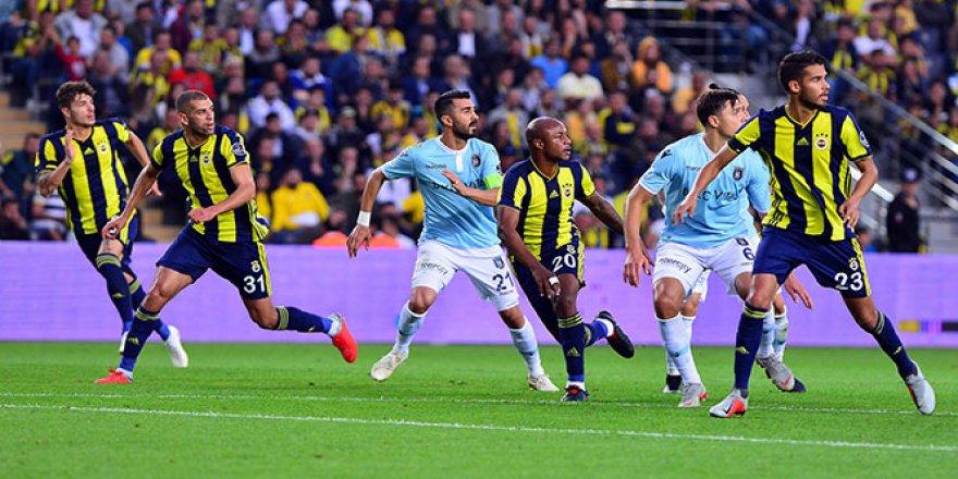Fenerbahçe'ye yine puan yok
