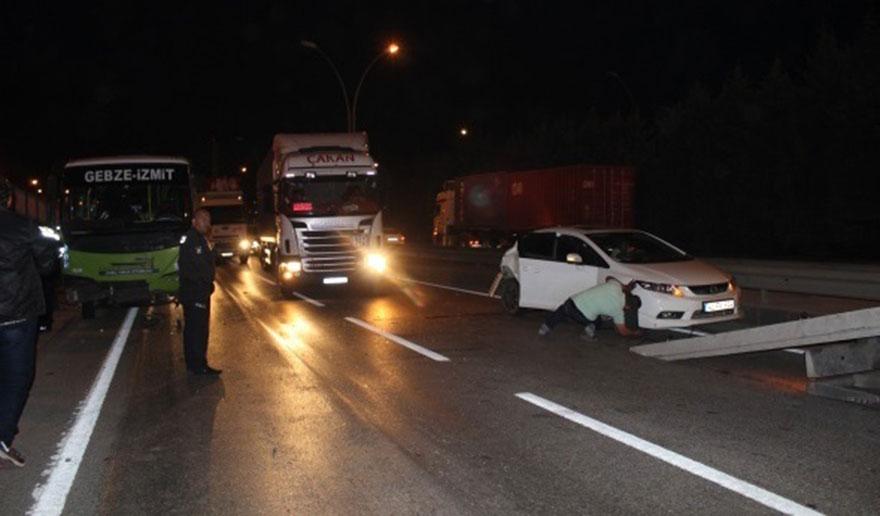 Feci kazada 2'si çocuk 4 kişi yaralandı