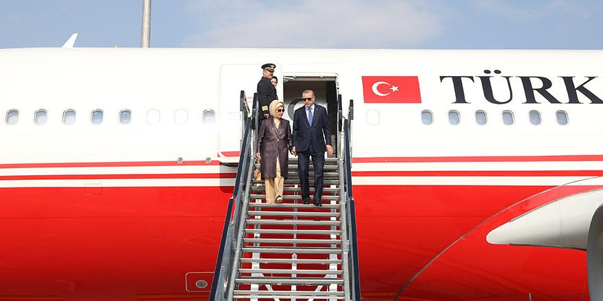 Başkan Erdoğan Macarsitan'da