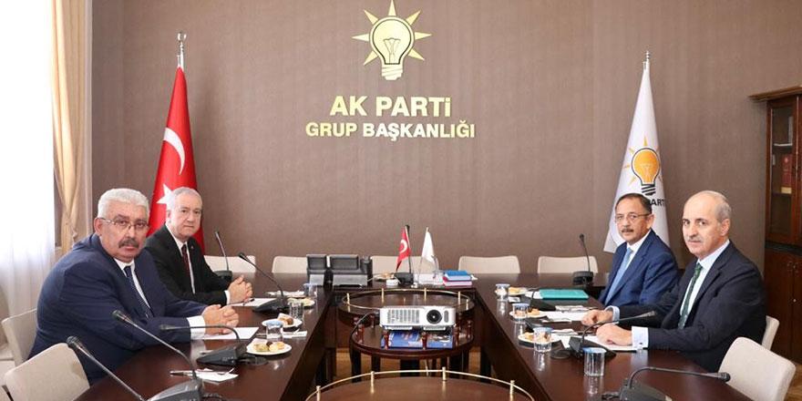 AK Parti ve MHP ittifak mesaisi