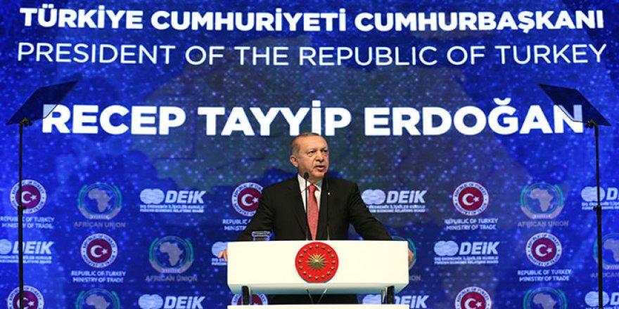 Cumhurbaşkanı Erdoğan, yatırım çağrısı yaptı