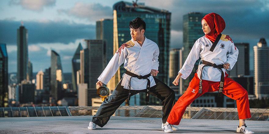 Taekwondo'nun ustaları Ankara'da buluştu