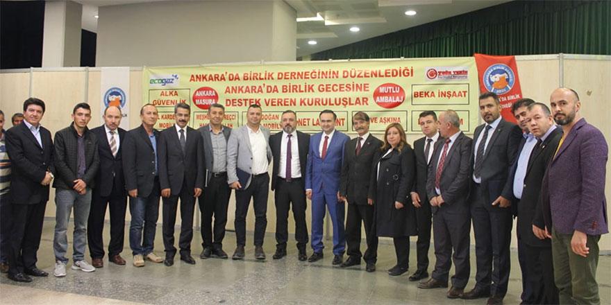 ABİDE Ankara'nın başkent oluşunu kutladı