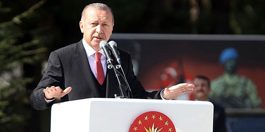 Cumhurbaşkanı Erdoğan'dan çok sert Suriye mesajı