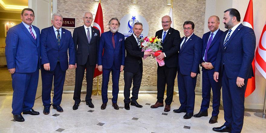 İş dünyasından Ertürk'e ziyaret