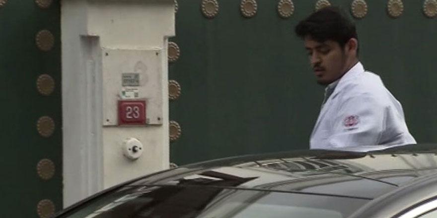 Suudi Konsolosluğu önünde görülen gizemli adam kim?