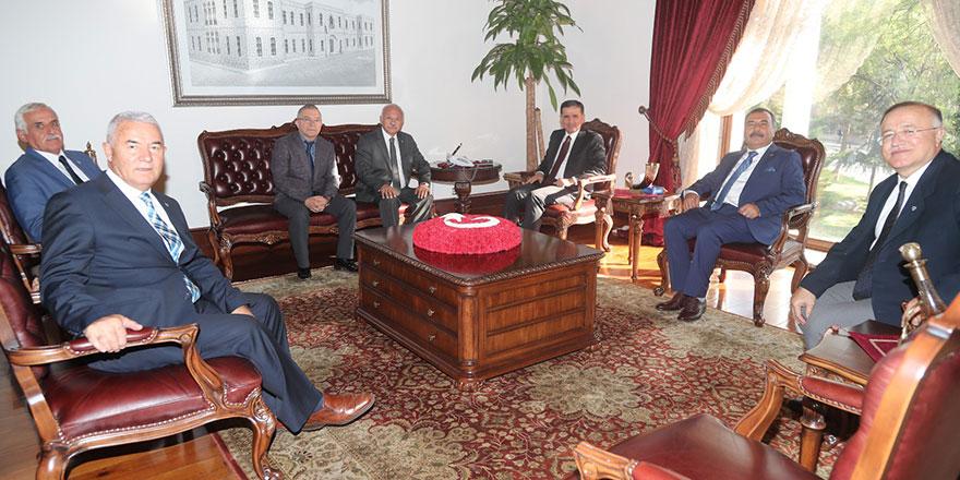 Ankara Kuyumcular Odası'ndan Vali Ercan Topaca'ya ziyaret