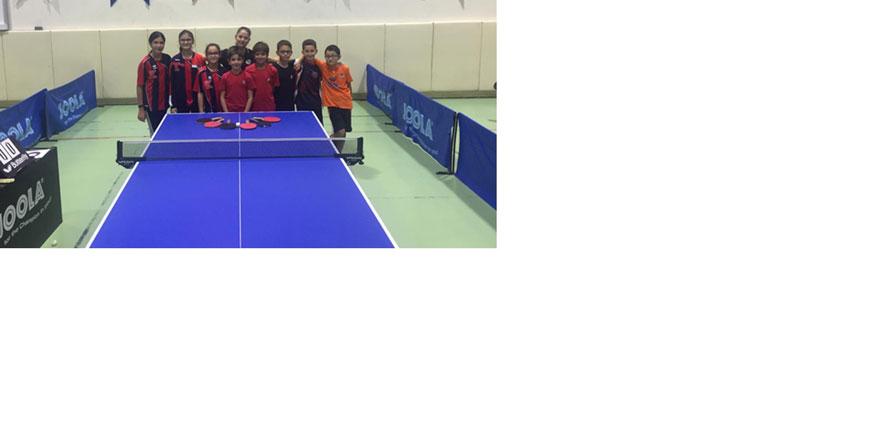 TED Koleji Masa Tenisi Takımı Türkiye Seçmelerine katıldı