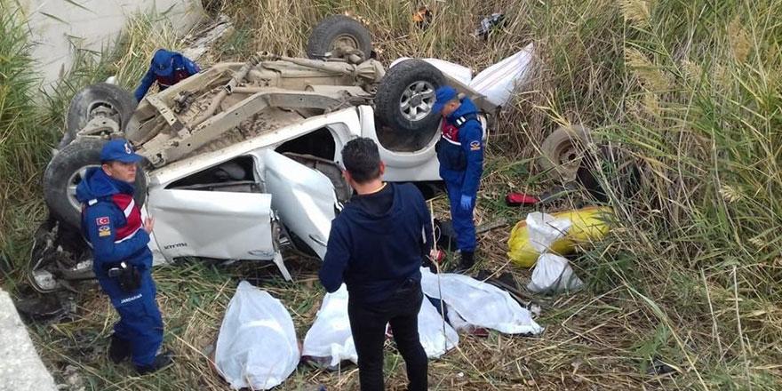 Ankara'da feci kaza! Otomobil takla attı: 4 ölü