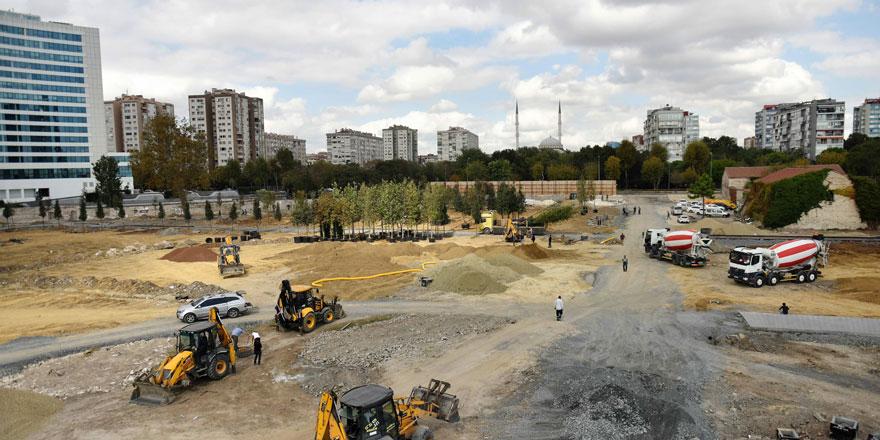 TOKİ Millet Bahçesi çalışmaları hızlandı