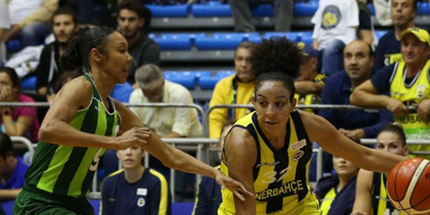 Sarı lacivertli  kadınlar Süper Ligde galibiyet yaşattı