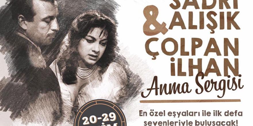 Sadri Alışık ve Çolpan İlhan sergisi ilk kez Ankara'da