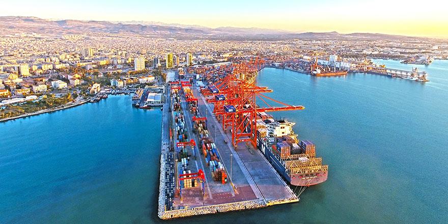 Türkiye'nin en büyük konteyner limanı