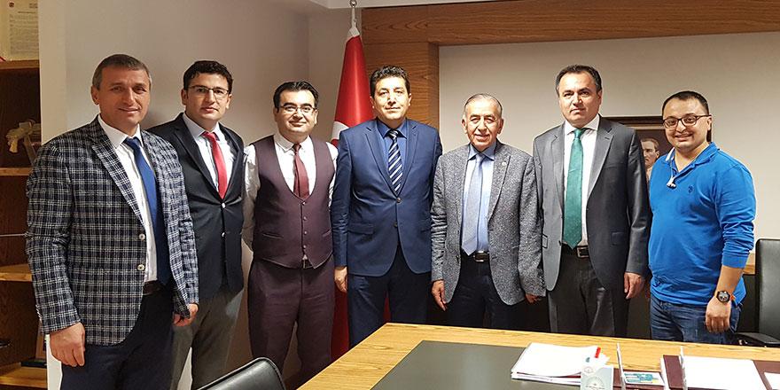 Kırşehirlilerden Çakır'a anlamlı ziyaret
