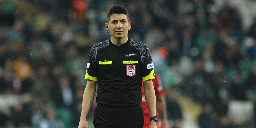 Galatasaray-Bursaspor maçının VAR'ı Yaşar Kemal Uğurlu
