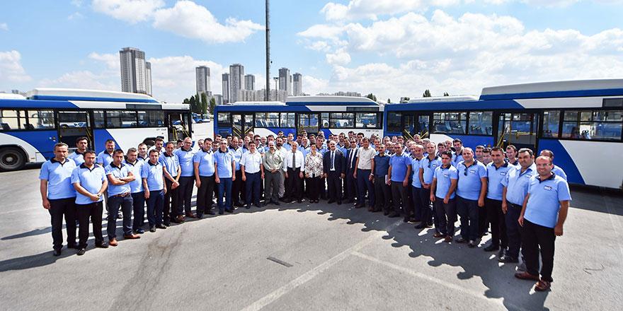 Öncelik vatandaş güvenliği! EGO otobüs şoförlerine eğitim verildi