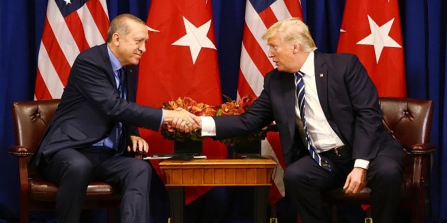 Erdoğan ile Trump arasında sürpriz görüşme!