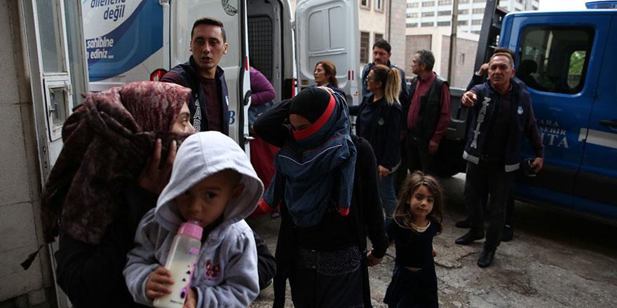 Ankara'da dilencilere operasyon
