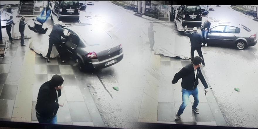 Başkent'te yürekleri ağza getiren kaza