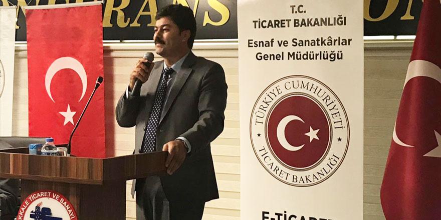 Necmettin Erkan: Elektronik ticaret giderek yaygınlaşıyor