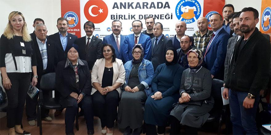 Ankaramız için hizmet üretmeye devam edeceğiz