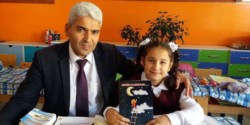 Eylül Ece Akdağ 10 yaşında kitap yazdı