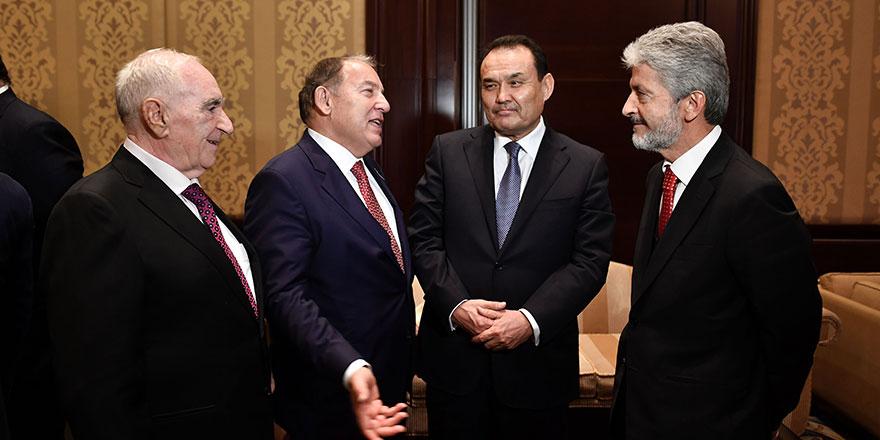 Baghdad Amreyev'den Başkan Tuna'ya anlamlı ziyaret