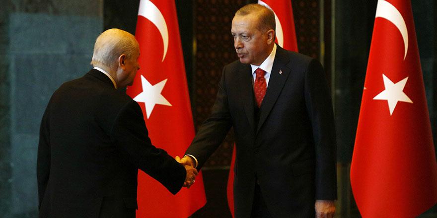 Cumhurbaşkanı Erdoğan 29 Ekim Cumhuriyet Bayramı tebriklerini kabul etti