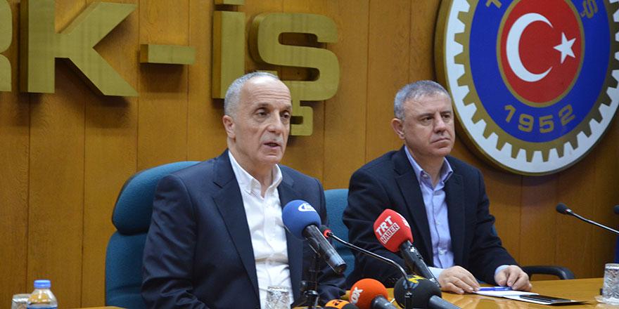 Türk-İş'ten bomba asgari ücret çıkışı