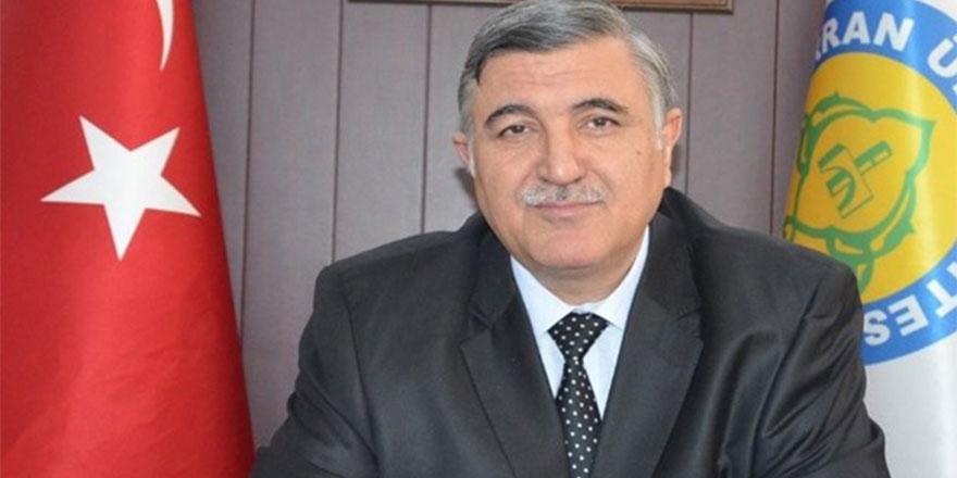 Sözleriyle gündeme oturan Harran Üniversitesi Rektörü istifa etti!