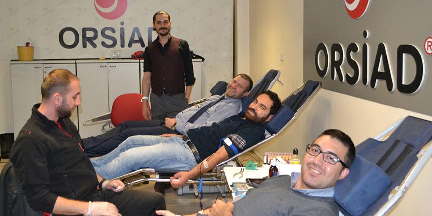 OSTİM'li sanayicilerden örnek davranış! OSTİM'liler kan verdi