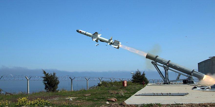ATMACA deniz füzesi Türkiye'de bir ilk olacak
