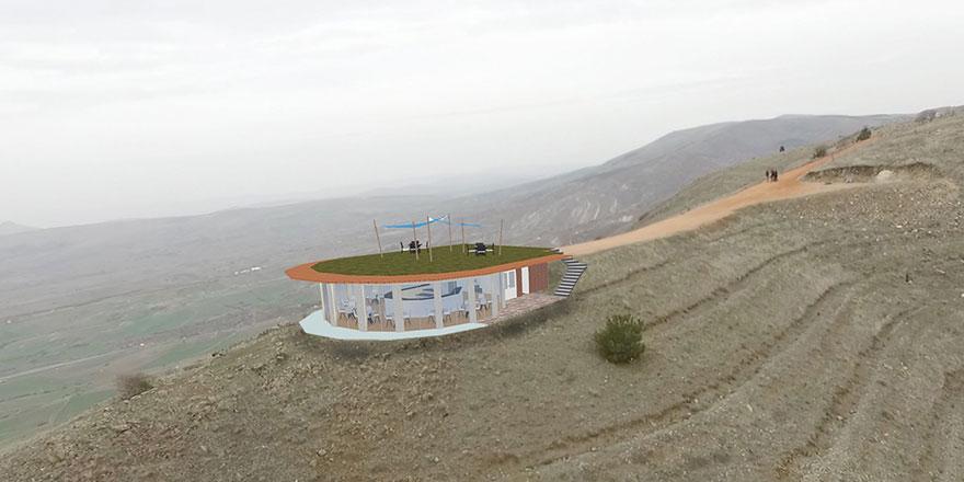 Ayaş'a yamaç paraşütü tesisi