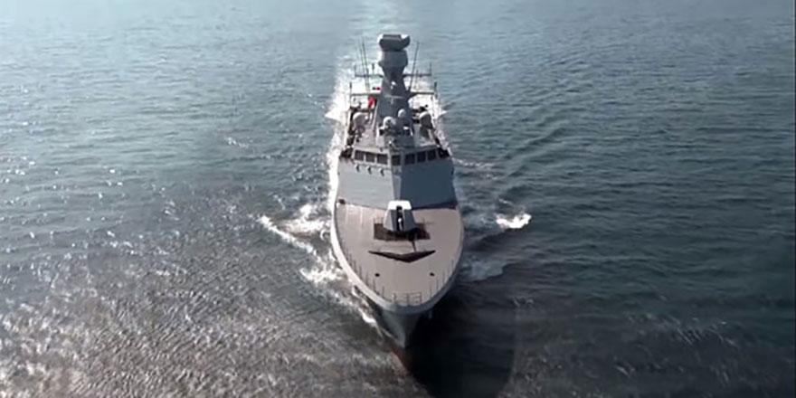 Türkiye'nin 3. milli savaş gemisi göreve başlıyor