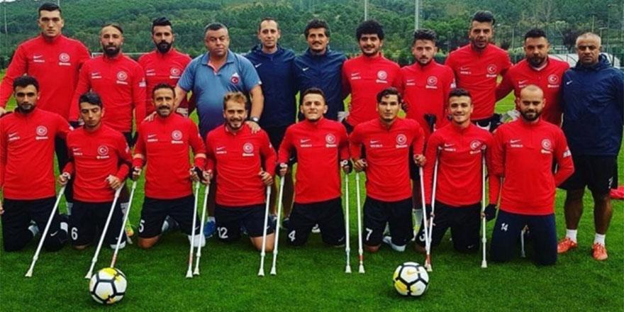 Ampute Futbol Milli Takımımız dünya ikinciliği ile gururumuz oldu