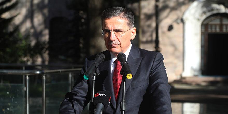 Vali Ercan Topaca'dan Ankara'ya veda konuşması