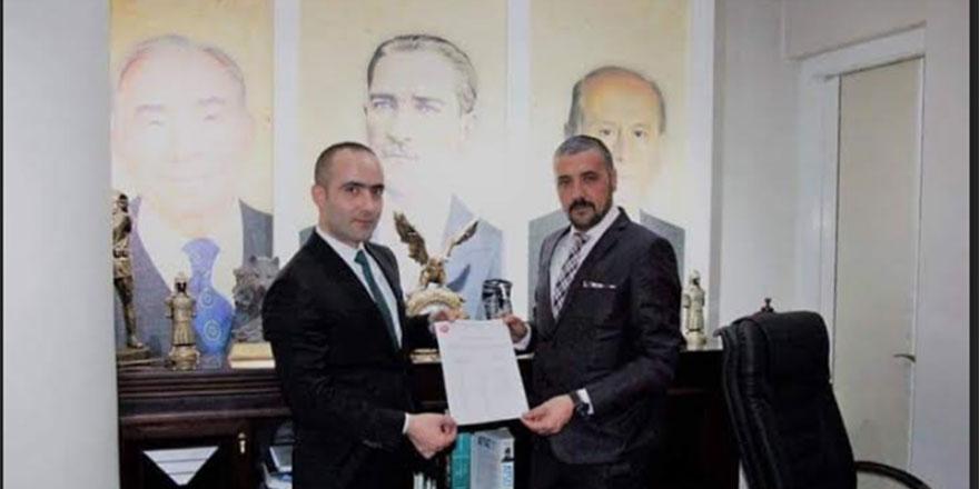Alparslan Doğan MHP Keçiören İlçe Başkanı oldu