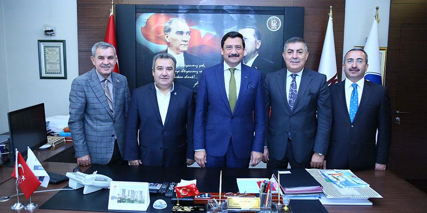 Federasyon başkanlarından Ak'a ziyaret